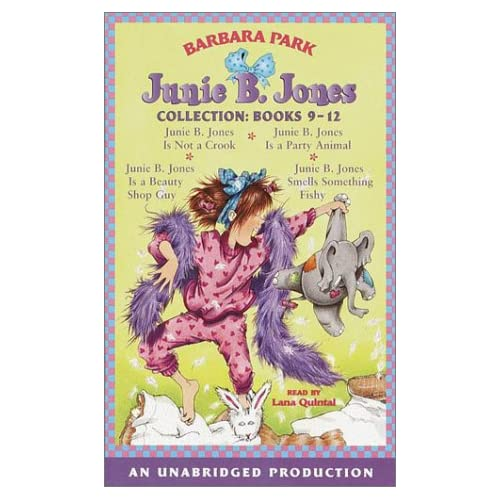 Image 0 of Junie B Jones Collection Books 9-12: #9 Jbj Is Not A Crook #10 Jbj Is A Party An