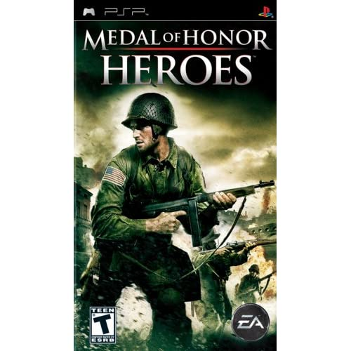 Medal Of Honor Heroes Sony For PSP UMD