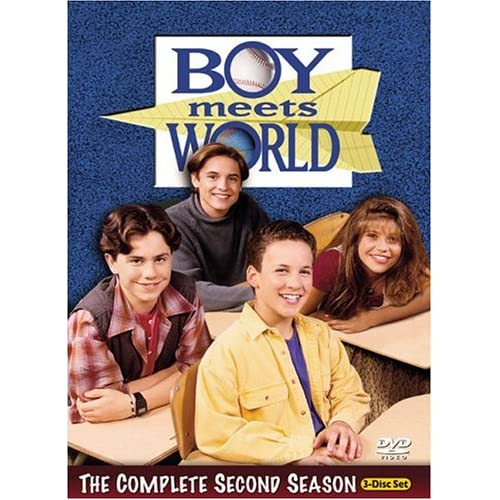 Image 0 of Boy Meets World The Complete Second Season On DVD With Ben Savage Disney