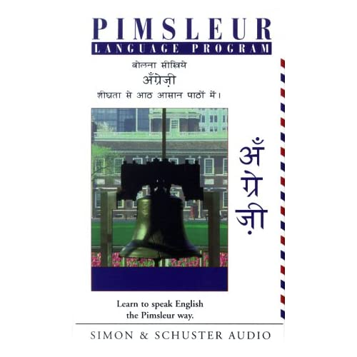 Image 0 of English For Hindi Speakers Pimsleur Language Program Hindi Edition By Pimsleur A