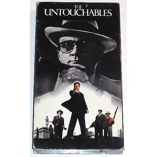 The Untouchables On VHS With Kevin Costner