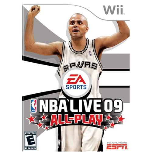 NBA Live 09 All-Play For Wii Basketball