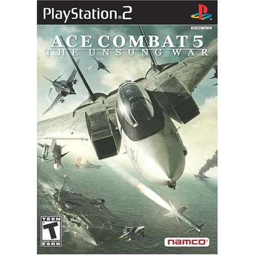 Ace Combat 5: The Unsung War For PlayStation 2 PS2 Racing