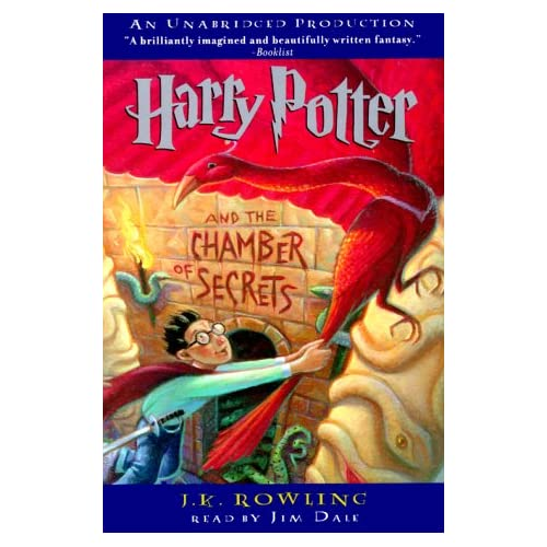 Image 0 of Harry Potter And The Chamber Of Secrets Book 2 By Jk Rowling Jim Dale Narrator O