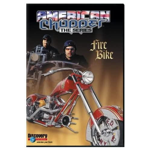 Image 0 of American Chopper Firebike On DVD with Paul Teutul Sr