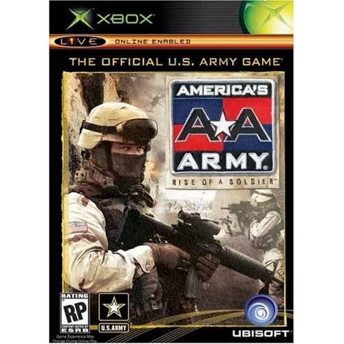 America's Army: Rise Of A Soldier For Xbox Original