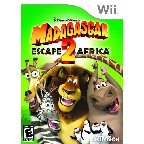 Image 0 of Madagascar 2: Escape 2 Africa For Wii And Wii U