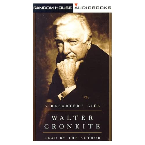 Image 0 of A Reporter's Life By Cronkite Walter Cronkite Walter Reader On Audio Cassette