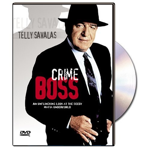 Crime Boss On DVD With Telly Savalas Mystery