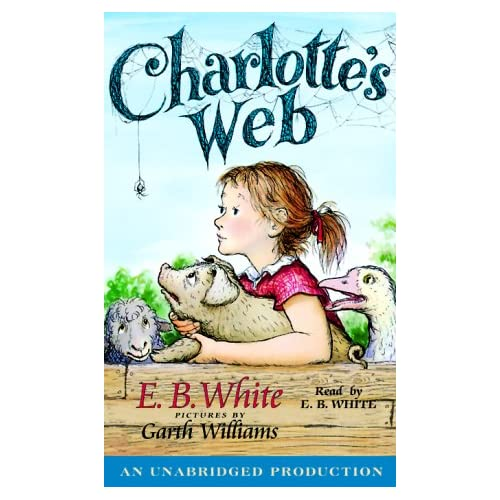 Image 0 of Charlotte's Web By E B White On Audio Cassette