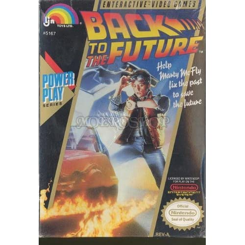 Back To The Future For Nintendo NES Vintage