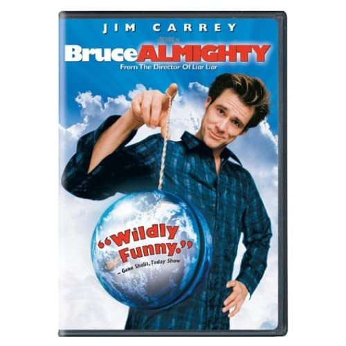 Image 0 of Bruce Almighty Full Screen Edition On DVD With Jim Carrey