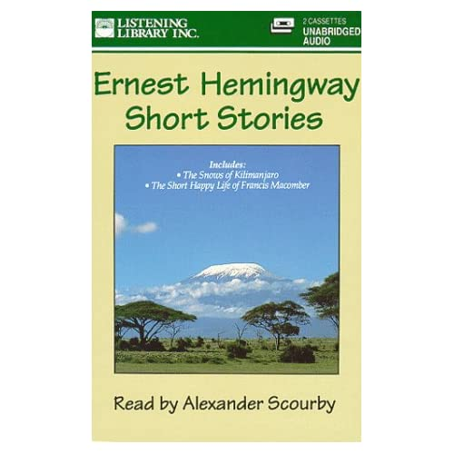 Image 0 of Ernest Hemingway Short Stories By Ernest Hemingway On Audio Cassette