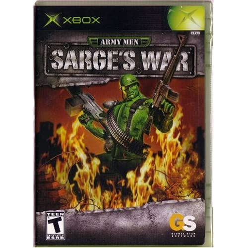 Army Men: Sarge's War For Xbox Original With Manual and Case
