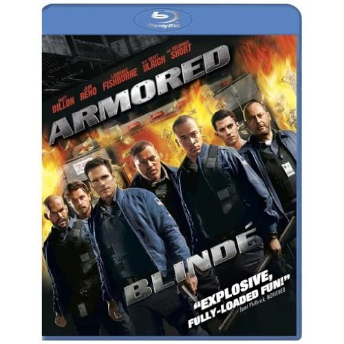 Armored Blu-Ray Blu-Ray 2010 On Blu-Ray