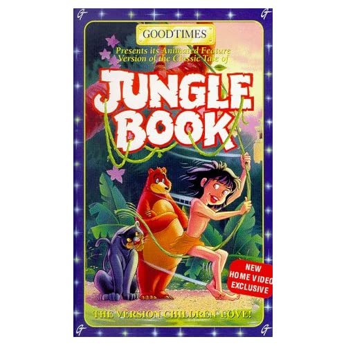Image 0 of Jungle Book On VHS with Tony Ail