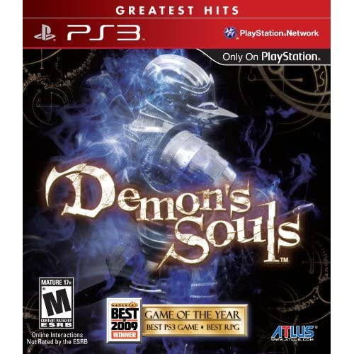 Demon's Souls For PlayStation 3 PS3 With Manual and Case
