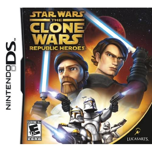 Image 0 of Star Wars The Clone Wars: Republic Heroes For Nintendo DS DSi 3DS 2DS