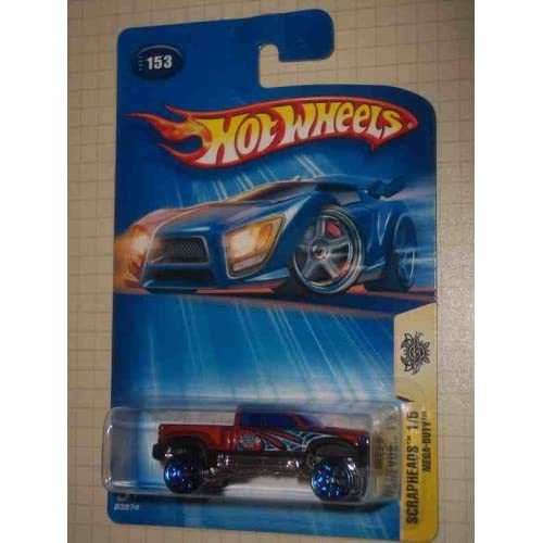 Image 0 of Scrapheads #1 Mega-Duty Y5 Wheels #2004-153 Collectible Collector Car Mattel Hot