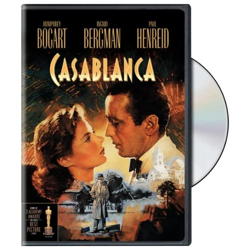 Image 0 of Casablanca On DVD With Humphrey Bogart Drama