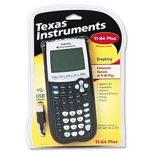 Lot Of 2 Texas Instruments TI-84 Plus Graphing Calculator 10-DIGIT LCD