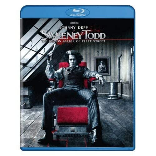 Image 0 of Sweeney Todd: The Demon Barber Of Fleet Street Blu-Ray On Blu-Ray With Johnny De