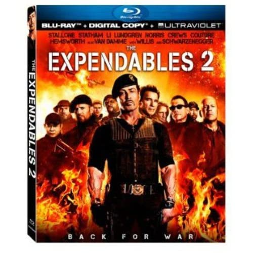 Image 0 of The Expendables 2 Ultraviolet On Blu-Ray With Sylvester Stallone