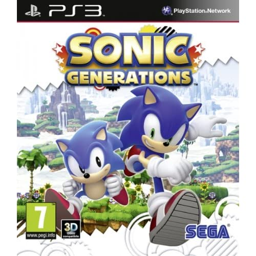 Image 0 of Sonic Generations PS3 For PlayStation 3