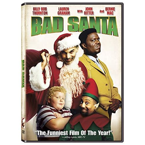 Image 0 of Bad Santa On DVD With Billy Bob Thornton Comedy