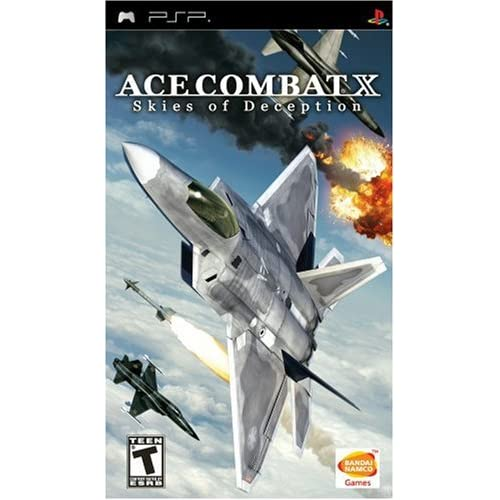 Image 0 of Ace Combat X: Skies Of Deception Sony For PSP UMD Shooter