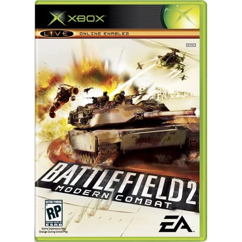 Battlefield 2 Modern Combat Xbox For Xbox Original With Manual and