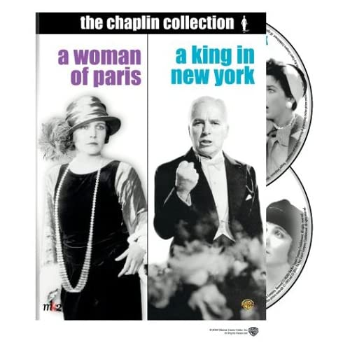 Image 0 of A King In New York / A Woman Of Paris 2 Disc Special Edition On DVD With Dawn Ad