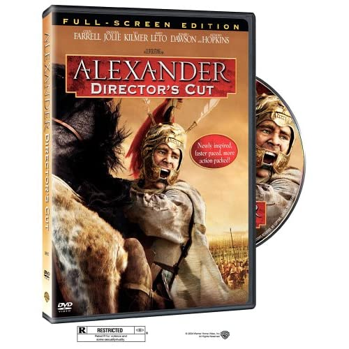 Image 0 of Alexander On DVD With Colin Farrell Drama