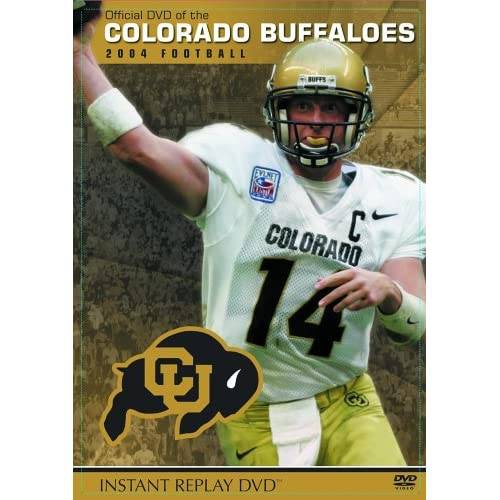 Image 0 of Colorado Buffaloes 2004 Football Instant Replay On DVD