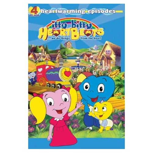 Image 0 of Itty Bitty Heartbeatswe Do Things From The Heart On DVD Children