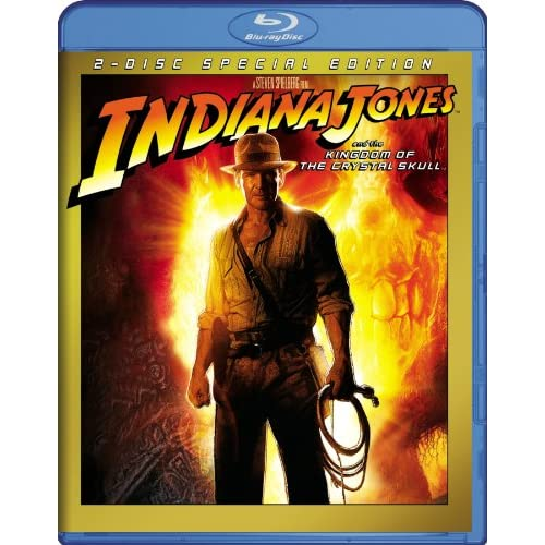 Indiana Jones And The Kingdom Of The Crystal Skull Blu-Ray On Blu-Ray With Harri