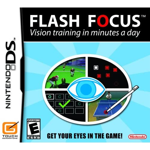 Image 0 of Flash Focus: Vision Training In Minutes A Day For Nintendo DS DSi 3DS 2DS Puzzle
