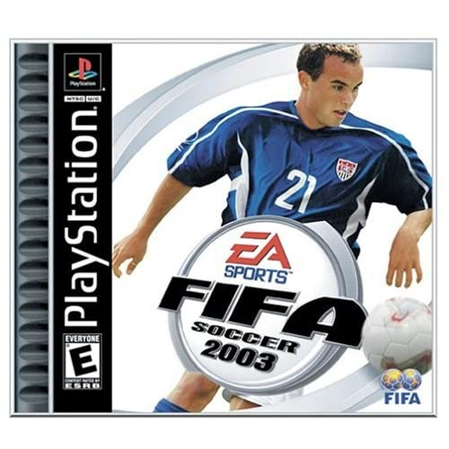 FIFA Soccer 2003 PlayStation For Wii U With Manual And Case
