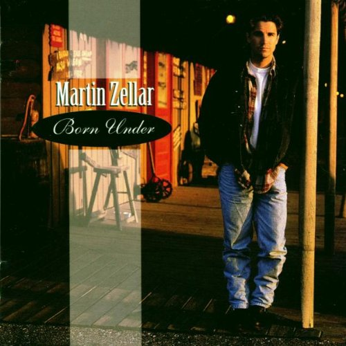 Image 0 of Born Under By Martin Zellar On Audio CD Album Rock 1995