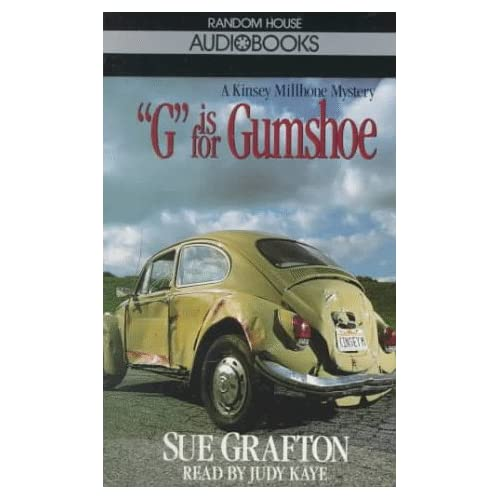 Image 0 of G Is For Gumshoe Sue Grafton By Sue Grafton And Judy Kaye Reader On Audio Casset