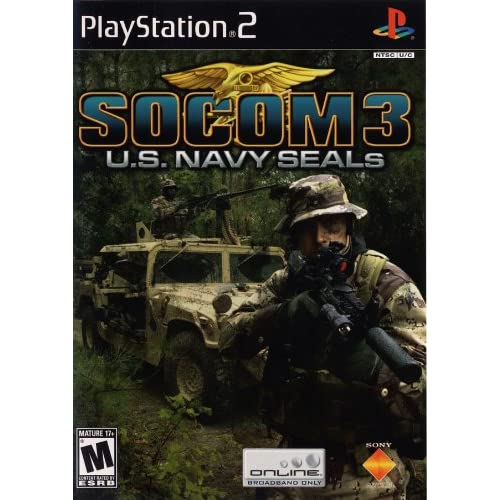 Socom 3 US Navy Seals For PlayStation 2 PS2