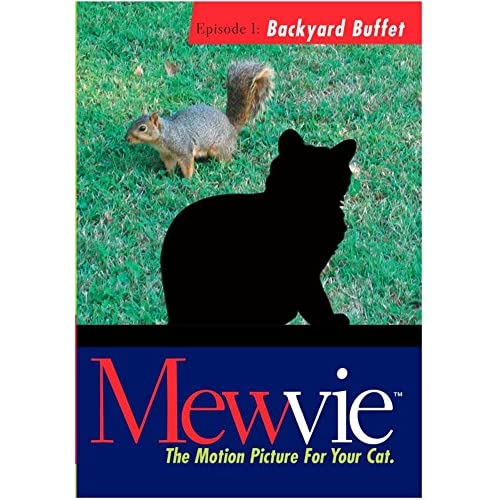 Mewvie The Motion Picture For Your Cat: Episode 1 Backyard Buffet On
