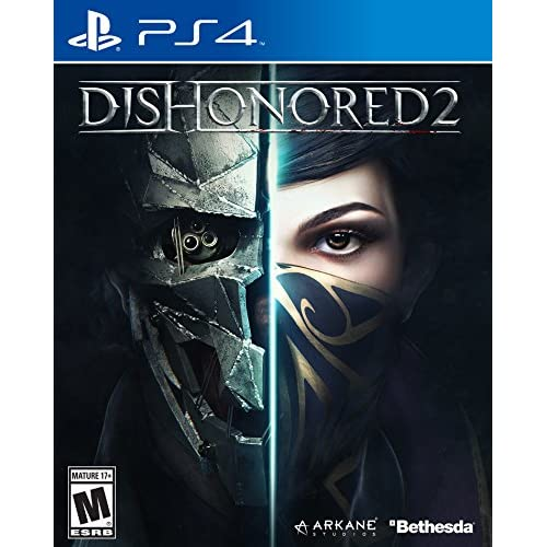 Dishonored 2 For PlayStation 4 PS4 Shooter With Manual and Case