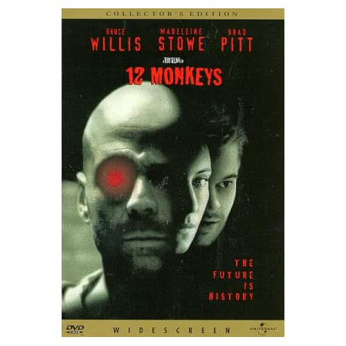 12 Monkeys Edition On DVD With Bruce Willis Drama