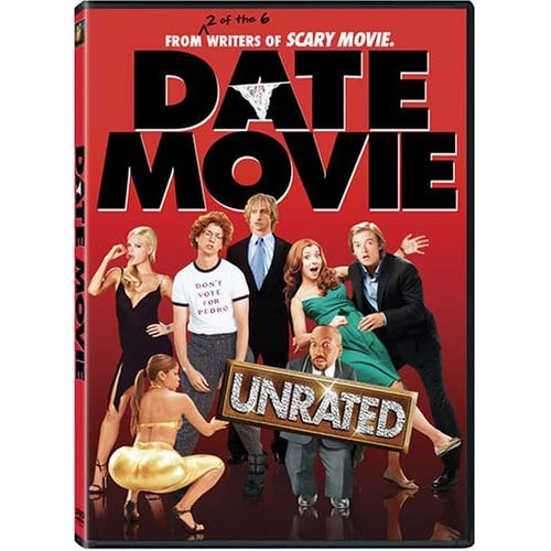 Image 0 of Date Movie Unrated Edition On DVD with Alyson Hannigan Comedy