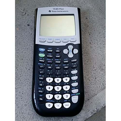 Image 0 of Texas Instruments TI-84 Plus Graphics Calculator Black