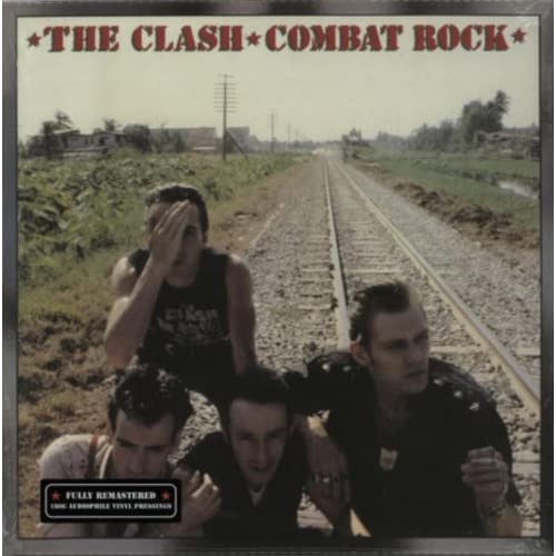Combat Rock By The Clash On Vinyl Record