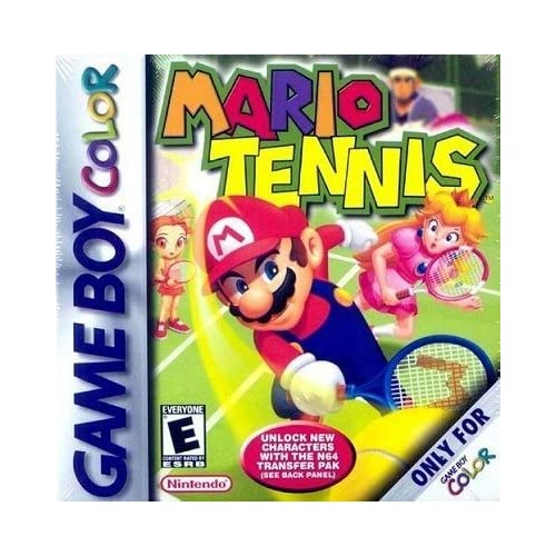 Mario Tennis On Gameboy Color