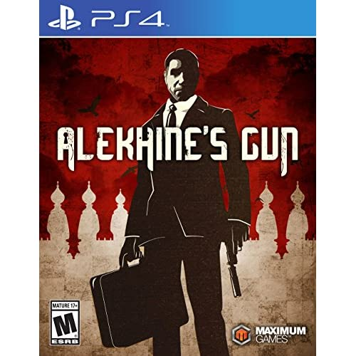 Alekhine's Gun PlayStation 4 For Nintendo DS DSi 3DS 2DS