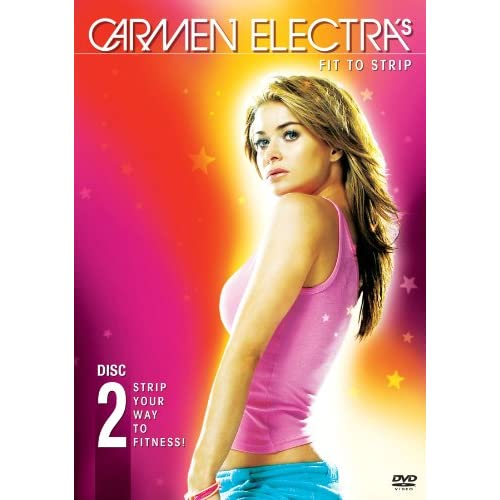 Image 0 of Carmen Electra's: Fit To Strip On DVD